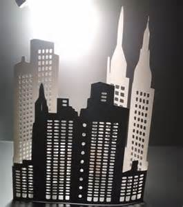How To Make A 3d Paper City - diy large 3d new york city skyline the second