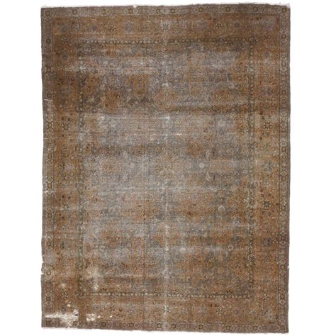 Distressed Antique Turkish Sparta Area Rug With Modern Distressed Rug