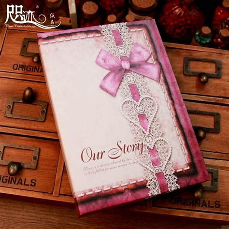 Handmade Wedding Photo Albums - mini handmade wedding photo album vintage flower lover our