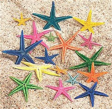 starfish colors candle boutique fe large colored starfish 30 pcs