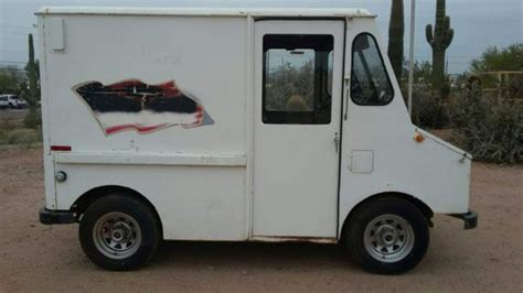 mail truck for sale 1973 am general step van mail truck ice cream truck