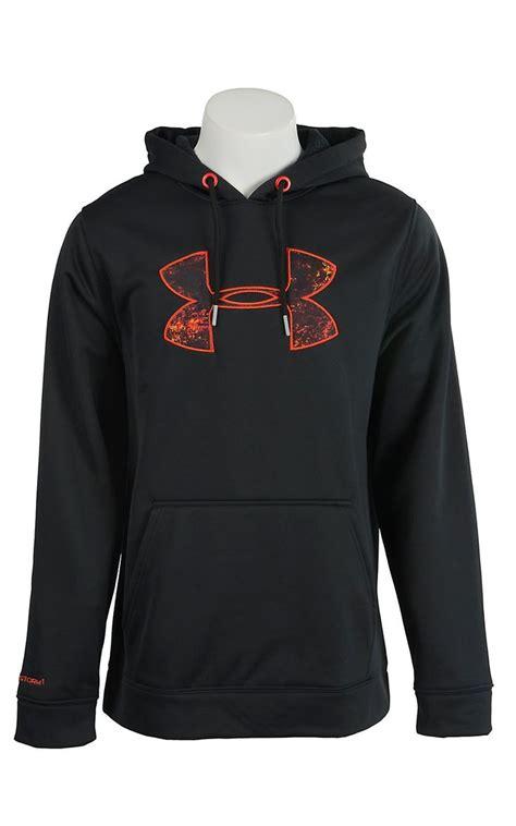 Hoodie Orange Black black and orange armour hoodie