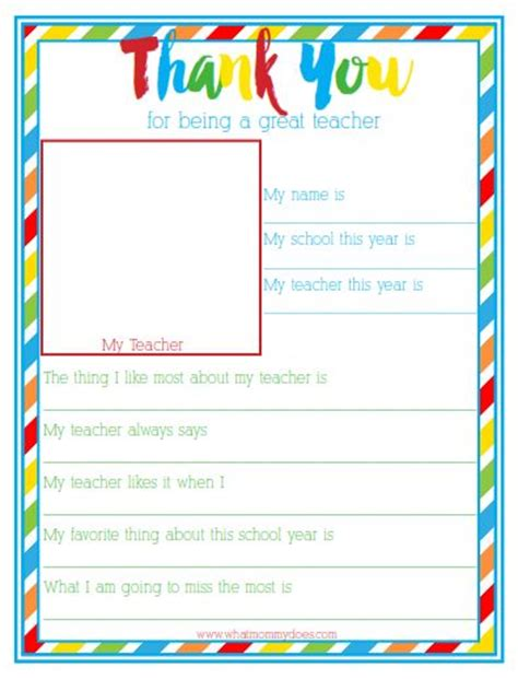 Thank You Letter Template Kindergarten Best 25 Questionnaire Ideas On Preschool Gifts Preschool