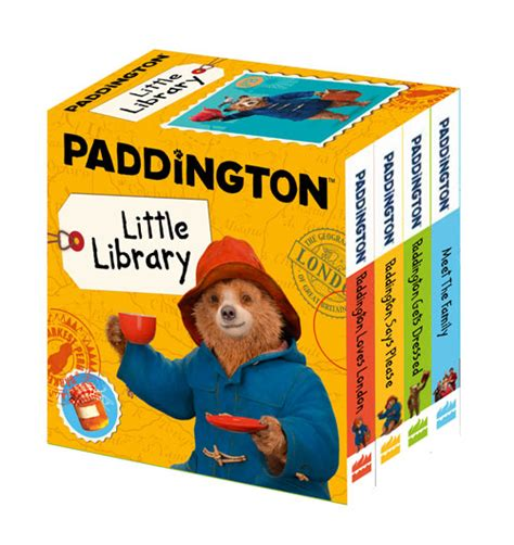 paddington little library take paddington home this christmas harpercollins uk