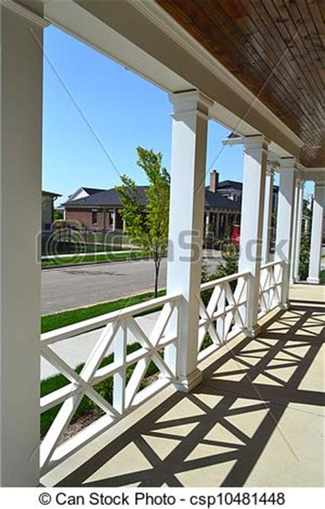 stock photo of front porch of a new house csp10481448 search stock images photographs