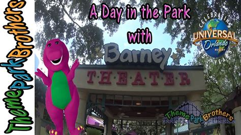 barney show universal studios quot a day in the park with barney quot show at universal