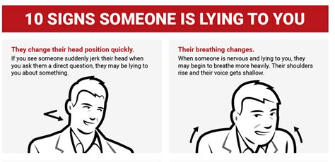 8 Out Of Ten Daters Lie For by 10 Signs Someone Is Lying To You Infographic Nairaland