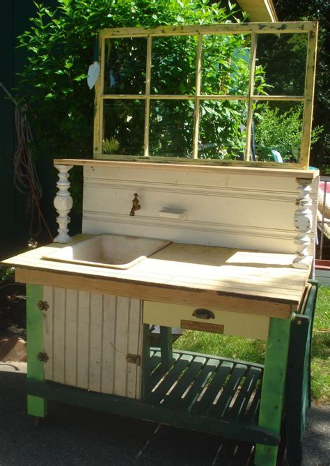 garden work bench with sink 188 best potting bench ideas images on pinterest