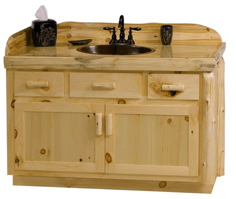 Unfinished Pine Bathroom Vanity unfinished pine vanities for bathroom mike davies s home