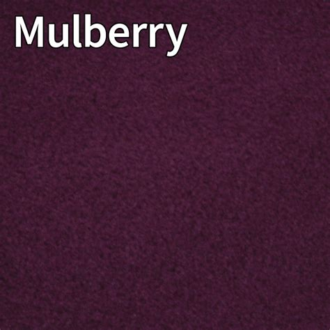 what color is mulberry colour chart for fleece summer suits t shirts and faux