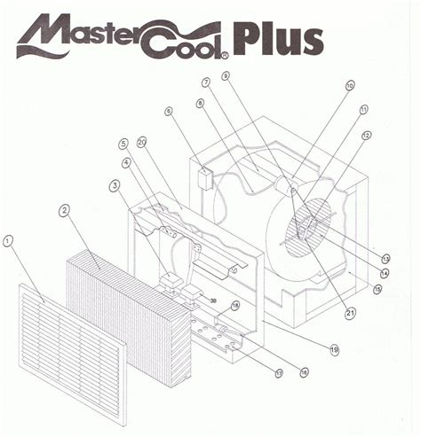 mastercool sw coolers wiring diagram evaporative cooler
