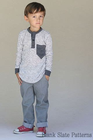 sewing pattern henley shirt hipster henley shirt sewing pattern for boys and girls by