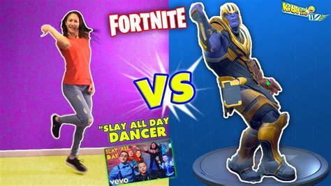 fortnite dance challenge  thanos   sky dancer