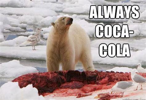Polar Bear Coke Meme - new coke konte 243 k 171 konte 243