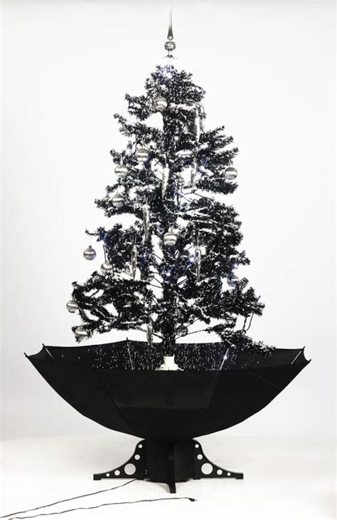 photos of atrificial christmas tress with snow self snowing artificial tree black 190 cm snow falling special effect ebay