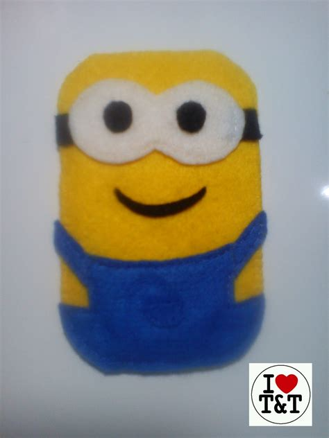 tutorial menggambar minion t t s little projects felt phone case