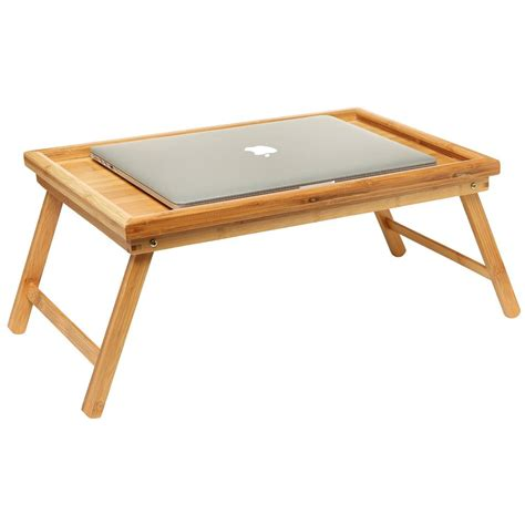 Folding Floor Table by Folding Bed Tray Table And Breakfast Tray Bamboo Bed Table
