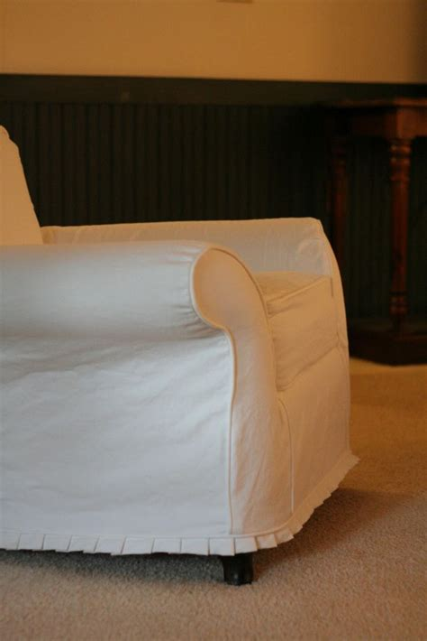 white chair and ottoman cover 50 best images about slipcovered furniture on