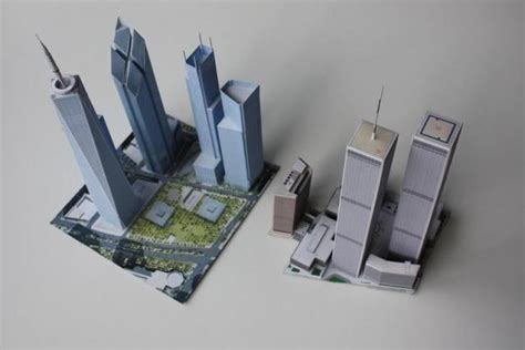 Papercraft Sale - papermau the new and world trade center complex by