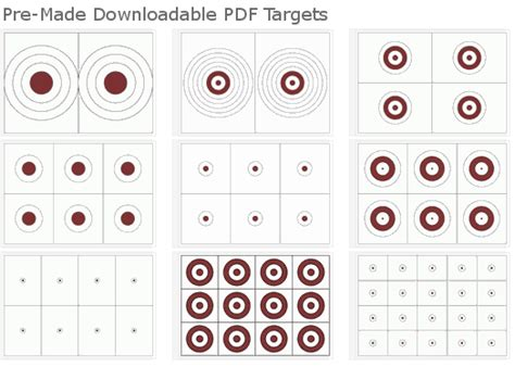 make your own printable shooting targets download free targets or create your own 171 daily bulletin