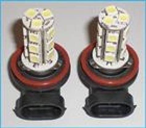 Lu Led H11 lada led h11 18 smd 5050 fendinebbia bianco 12v