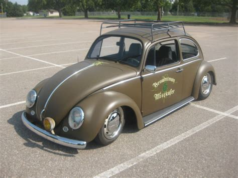 custom vw beetle air bagged ratrod hotrod