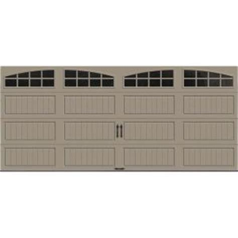 16 Foot Garage Door by Clopay Gallery Collection 16 Ft X 7 Ft 18 4 R Value