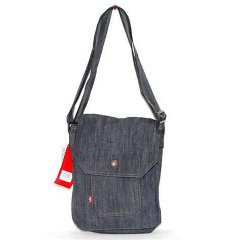 Handbag Levis 1102 02 levis tab student denim bag sportie la