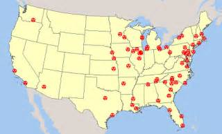 map of us nuclear plants u s nuclear reactor power plant seismic hazard earthquake