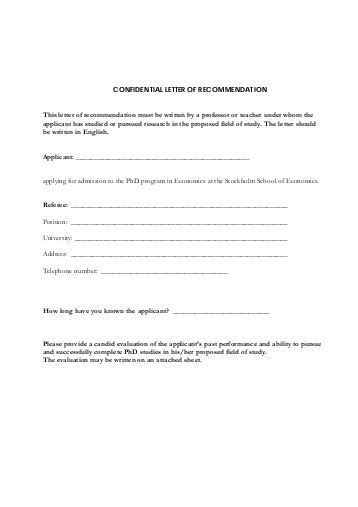 Letter Of Recommendation Byu the effective school letter of recommendation