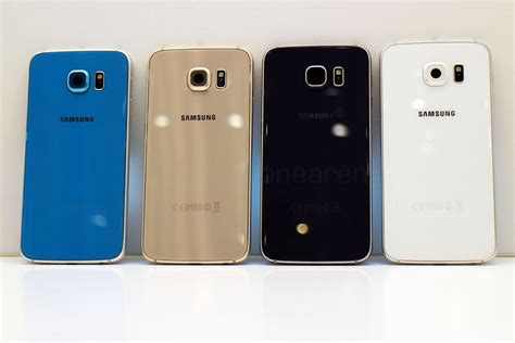 Samsung Galaxy S6 Colors Samsung Galaxy S6 Color Comparison