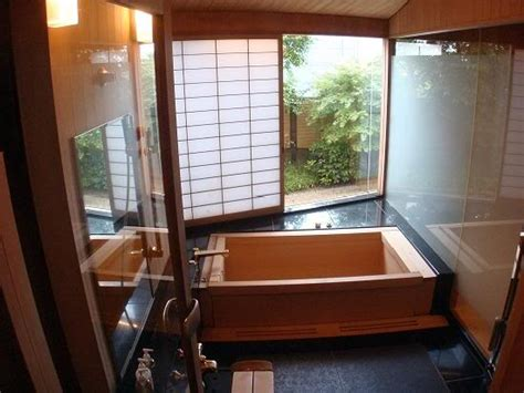 Traditional Japanese Bathtub by Japanese Bath Ofuro Ma Mi