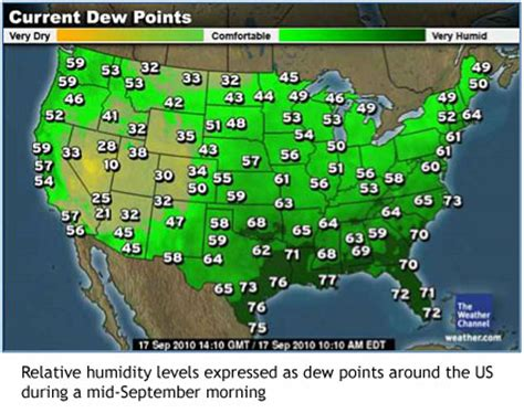 dew point map image permanence institute fall back to mold time