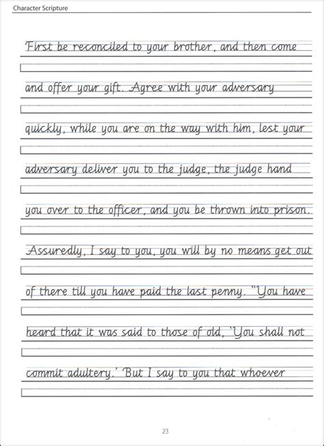 printable writing worksheets for grade 4 scripture character writing worksheets getty dubay italic