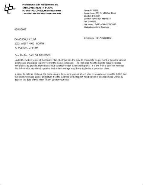 Employment Benefit Letter Ltr Button Documentation