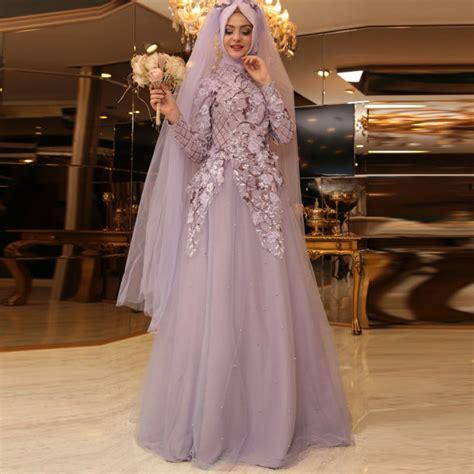 desain gaun organza muslim bridal dresses robe de mariee 2016 wedding gown