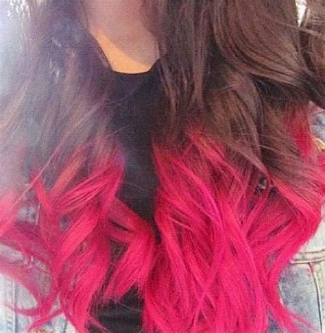 dyed hairstyles for brunettes best 25 pink dip dye ideas on pinterest dip dye dip