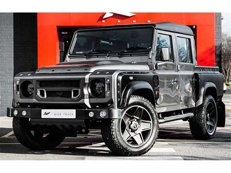 kahn land rover defender cab kahn design s land rover defender cab up