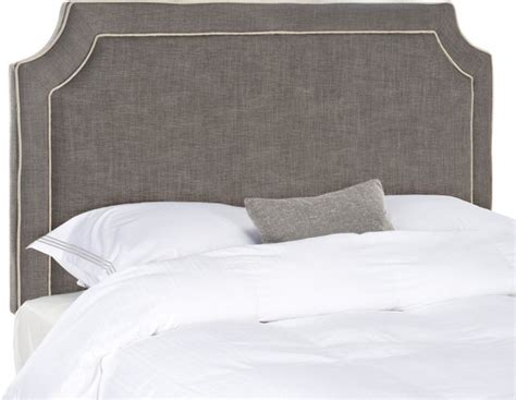 Brown Upholstered Headboard by Dane Upholstered Headboard Charcoal Brown With Taupe