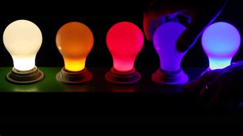 colored led light bulbs at 1000bulbs com youtube