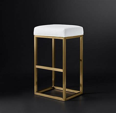 Rh Modern Bar Stools by Reese Fabric Stool Collection Rh Modern Carnaval In
