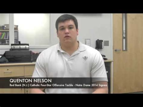 quenton nelson bench press quenton nelson notre dame offensive guard