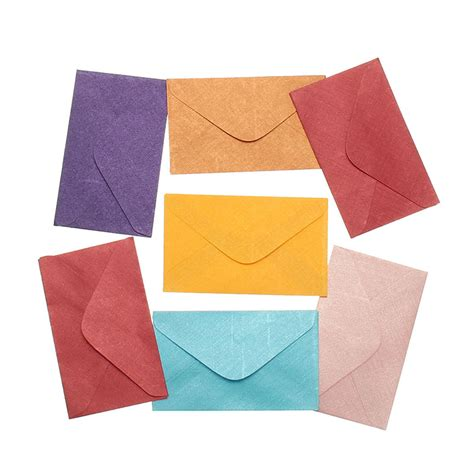 Envelopes From Paper - kicute 50pcs retro design small colored blank mini paper