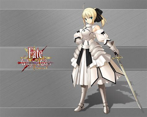 fate stay night unlimited codes side by side comparison video fate series fate stay night fate unlimited codes saber