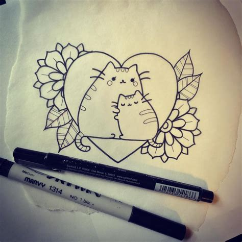 pusheen tattoo 25 best ideas about kawaii on pearl