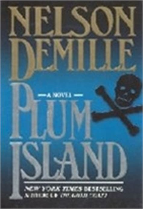 plum island by nelson demille signed first edition book