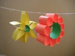 Construction Paper Flower Crafts - summer crafty ideas for tips and tutorials page 2