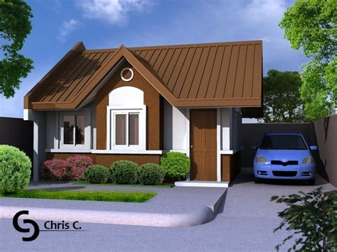 popular simple house design with bungalow house
