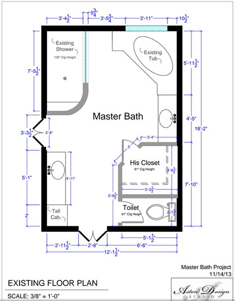 universal design bathroom floor plans before after an accessible master bathroom is created