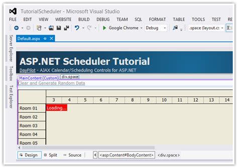 tutorial asp net webforms asp net scheduler tutorial daypilot code